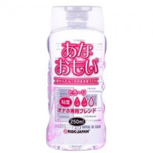 【日本RIDE JAPAN】あなおもい とろ~り 中黏度潤滑液_250ml