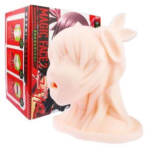 【日本PxPxP】Magic Face2 對魔忍 水城雪風 非貫通放置型口交型自慰套