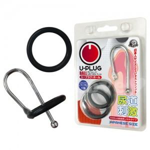 日本A-one*U-プラグ ボール U型尿道刺激器