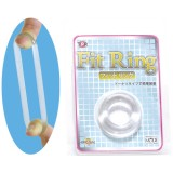 日本MODE Fit Ring猛男環 延時環 鎖精環 男用環-透明