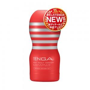 日本TENGA自慰杯15週年全新改版 原裝真空杯(一次性使用商品)