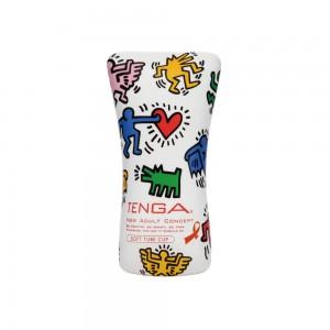 日本TENGA×Keith Haring SOFT TUBE CUP漫畫款軟質快感型自慰杯