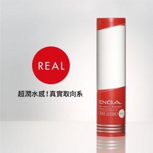 日本TENGA杯趣專用潤滑液 HOLE LOTION REAL超潤水感真實取向系潤滑液170ml(真實紅)