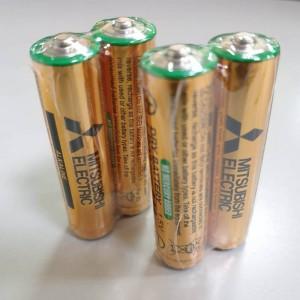 日本 MITSUBISHI 三菱 4號 AAA 鹼性電池 (2入)