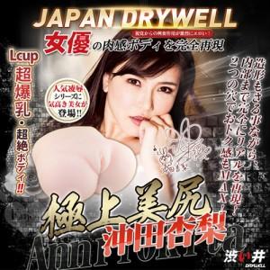 日本Drywell【涉い井】冲田杏梨の極上美尻3D立體倒模完全再現豪華名器-5kg﹝附簽名海報/人體潤滑液200ML