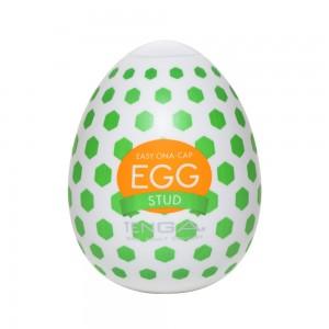 日本TENGA一次性奇趣蛋自慰蛋 EGG歡樂系列 EGG-W02螺點挺趣蛋(STUD)