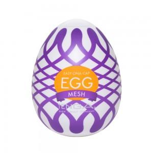 日本TENGA一次性奇趣蛋自慰蛋 EGG歡樂系列 EGG-W03織網挺趣蛋(MESH)