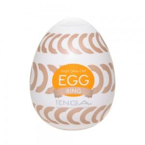 日本TENGA一次性奇趣蛋自慰蛋 EGG歡樂系列 EGG-W06迴圈挺趣蛋(RING)