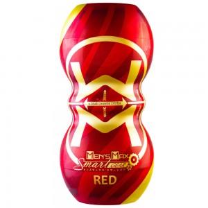 日本Men' s Max SMART GEAR雙向體位自慰杯(齒輪紅色)