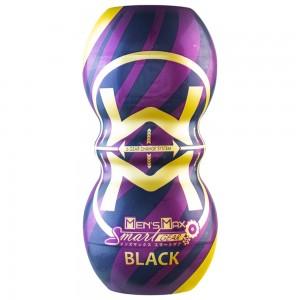 日本Men' s Max SMART GEAR雙向體位自慰杯(齒輪黑色)