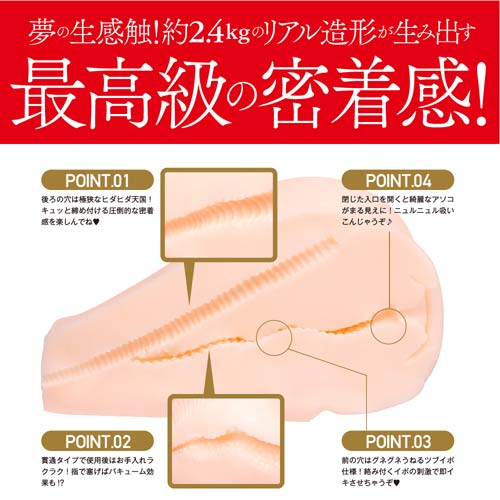 日本EXE*【海外限定】JULIAのおしり 2.4KG重量感小尻自慰套