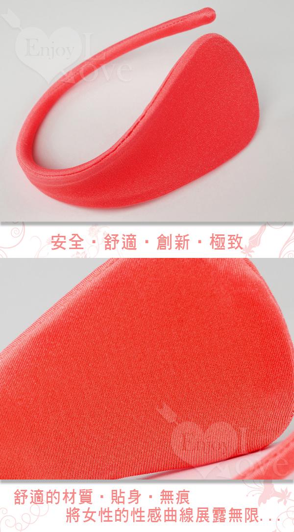 隱形情趣誘惑C字褲 (紅)