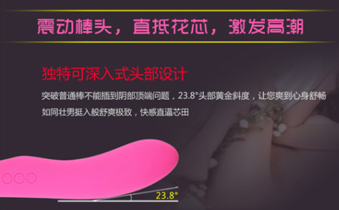 最新AV女優曲線型靜音按摩棒-鬱金香紫