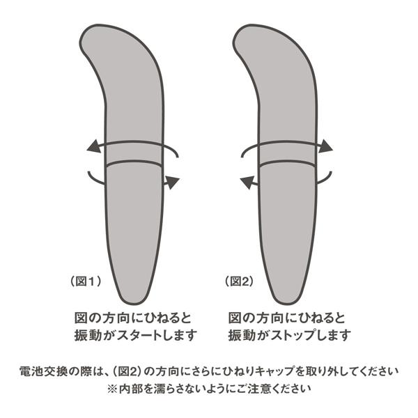 【日本 SSI JAPAN】クロスティックローター G點震動棒(黑色)