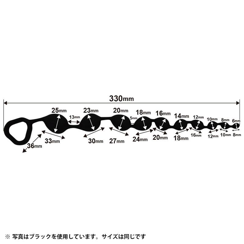 日本LOVE FACTOR*アナルビッグバン3 パープル後庭拉珠_全長33cm(紫色)