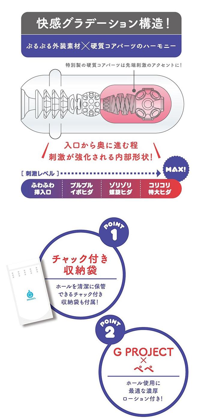 【日本GPRO】Ju-C4U自慰套 美少女二層構造 男用自慰器
