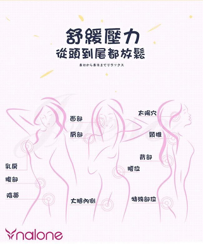 香港Nalone-菠莉Polly 7段變頻萌動小巧便攜震動按摩棒-粉