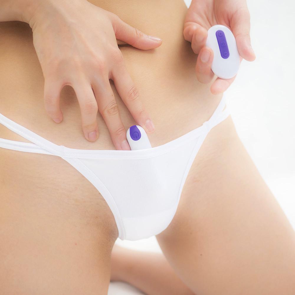 日本SSI JAPAN遙控跳蛋專用口袋內褲(白色)