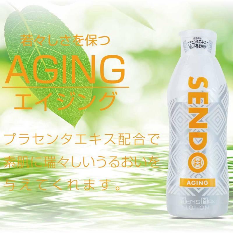日本Men' s Max SEND AGING 自然光滑水溶性潤滑液360ml