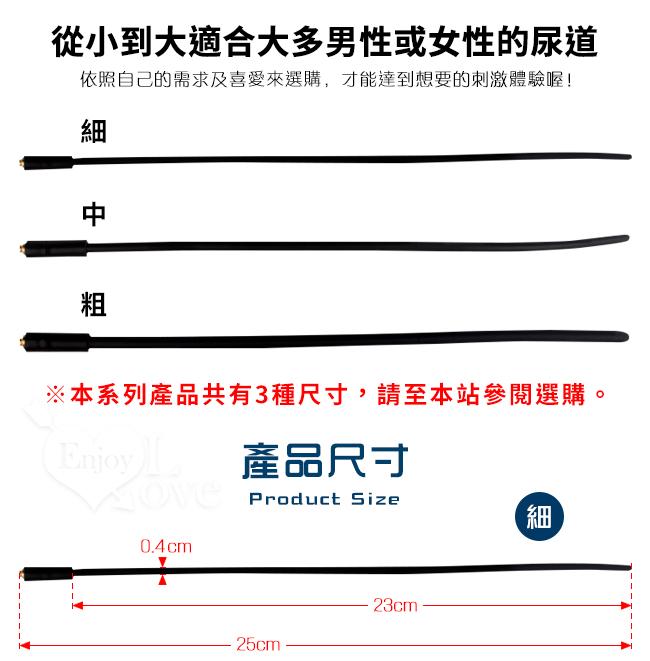 Electric shock 4模式5脈衝電擊組-細﹝4mm硅膠尿道馬眼棒+陰莖睪丸套環﹞