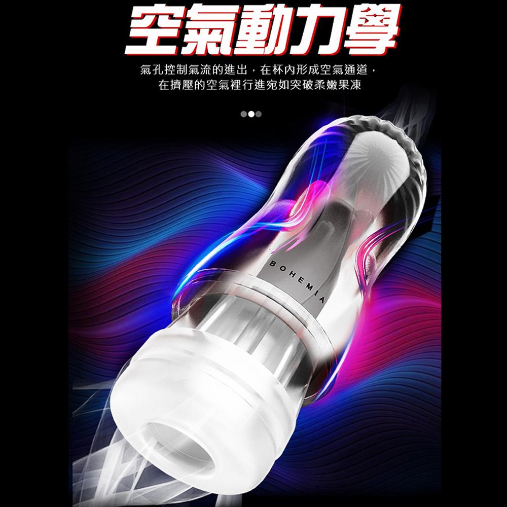 RENDS波西米亞肉厚夾吸款(透明-自由Pro)鍛鍊透明飛機杯