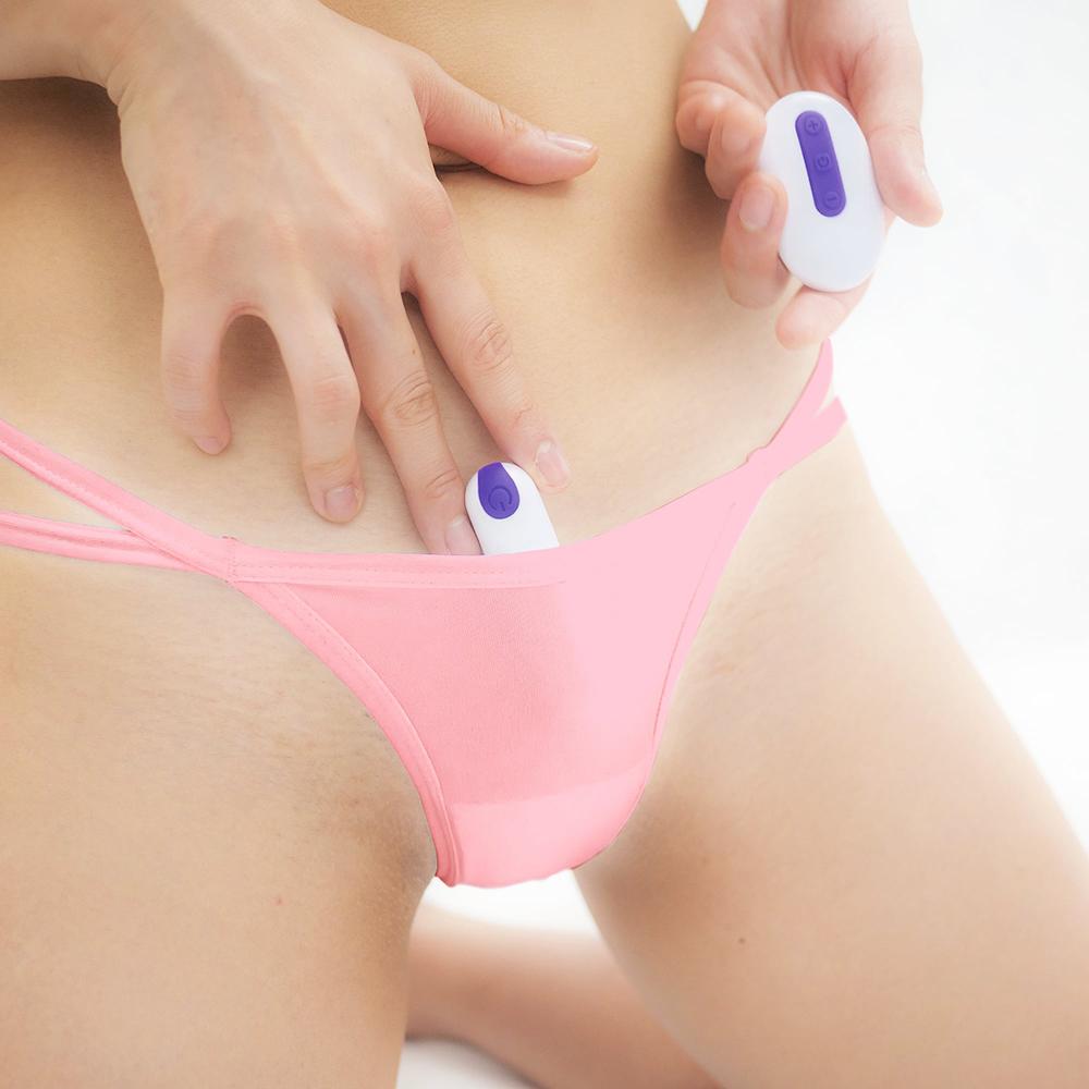 日本SSI JAPAN遙控跳蛋專用口袋內褲(粉色)