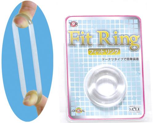 日本MODE Fit Ring猛男環 延時環 鎖精環 男用環-透明