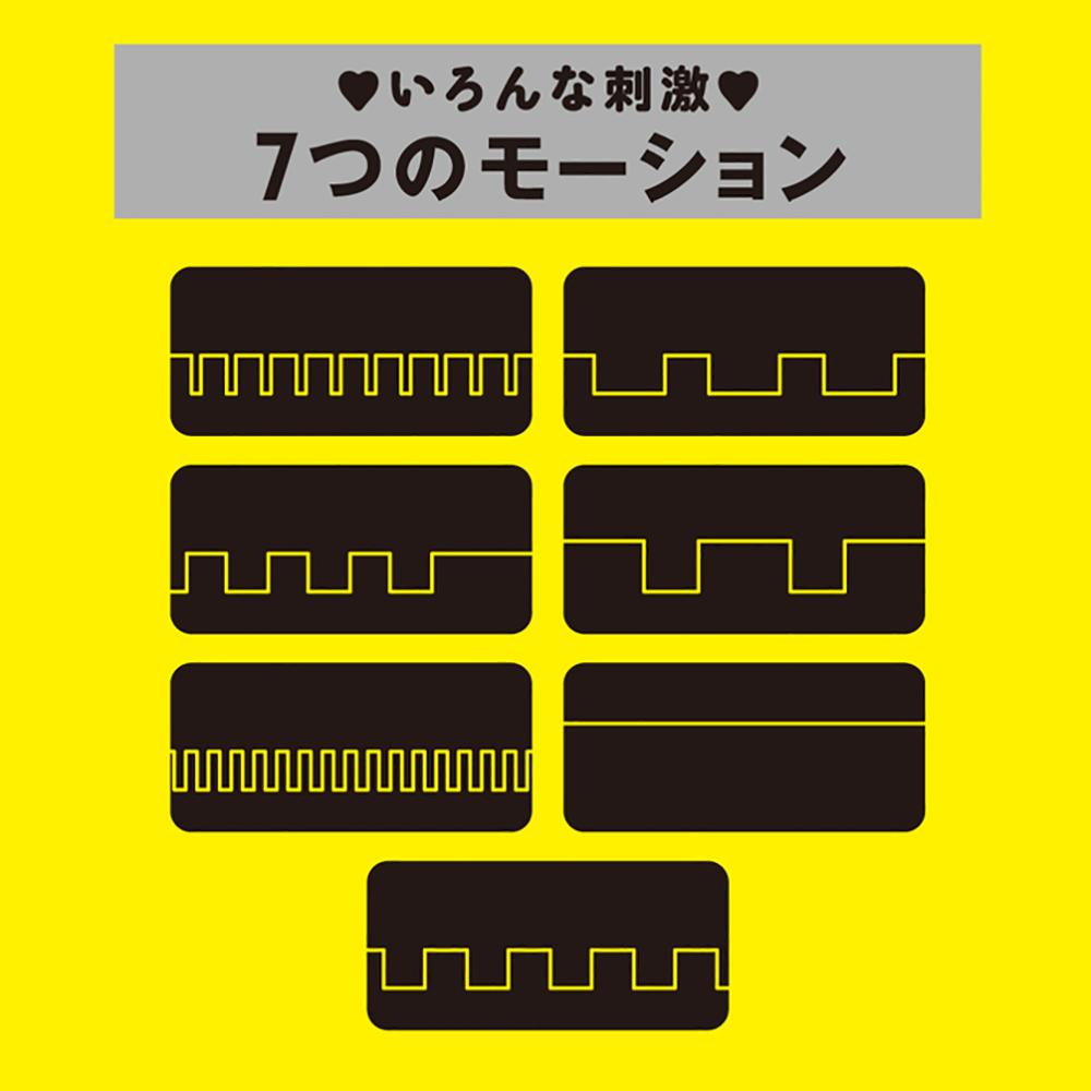 【日本PxPxP】PINPOINT ROTOR 7頻震動刺激特點跳蛋(粉紅色)