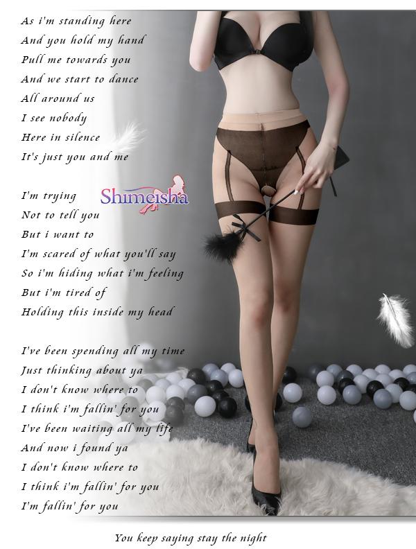 《SHIMEISHA》開檔免脫假內褲吊襪造型連褲絲襪﹝膚底黑紋﹞