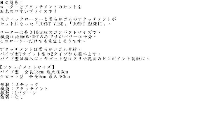 日本EXE*JOYNT VIBE 調情震盪棒